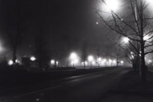 Main Street & University in Arkham