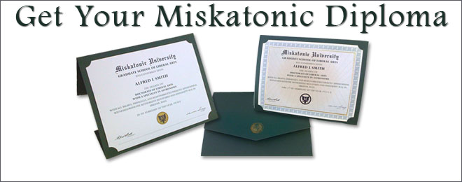 Join Miskatonic University