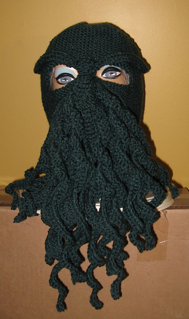 Nancy B. Nutt's Cthulhu Knit Ski-mask